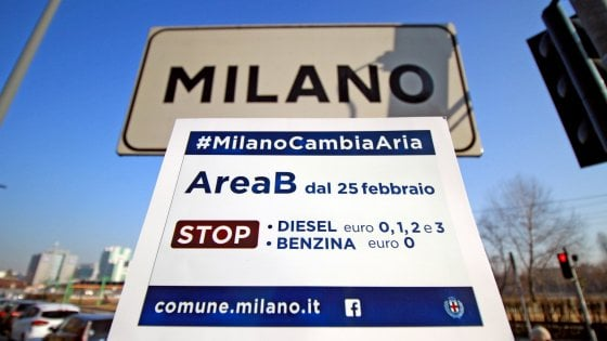Da oggi divieto di accesso a Milano per le auto inquinanti