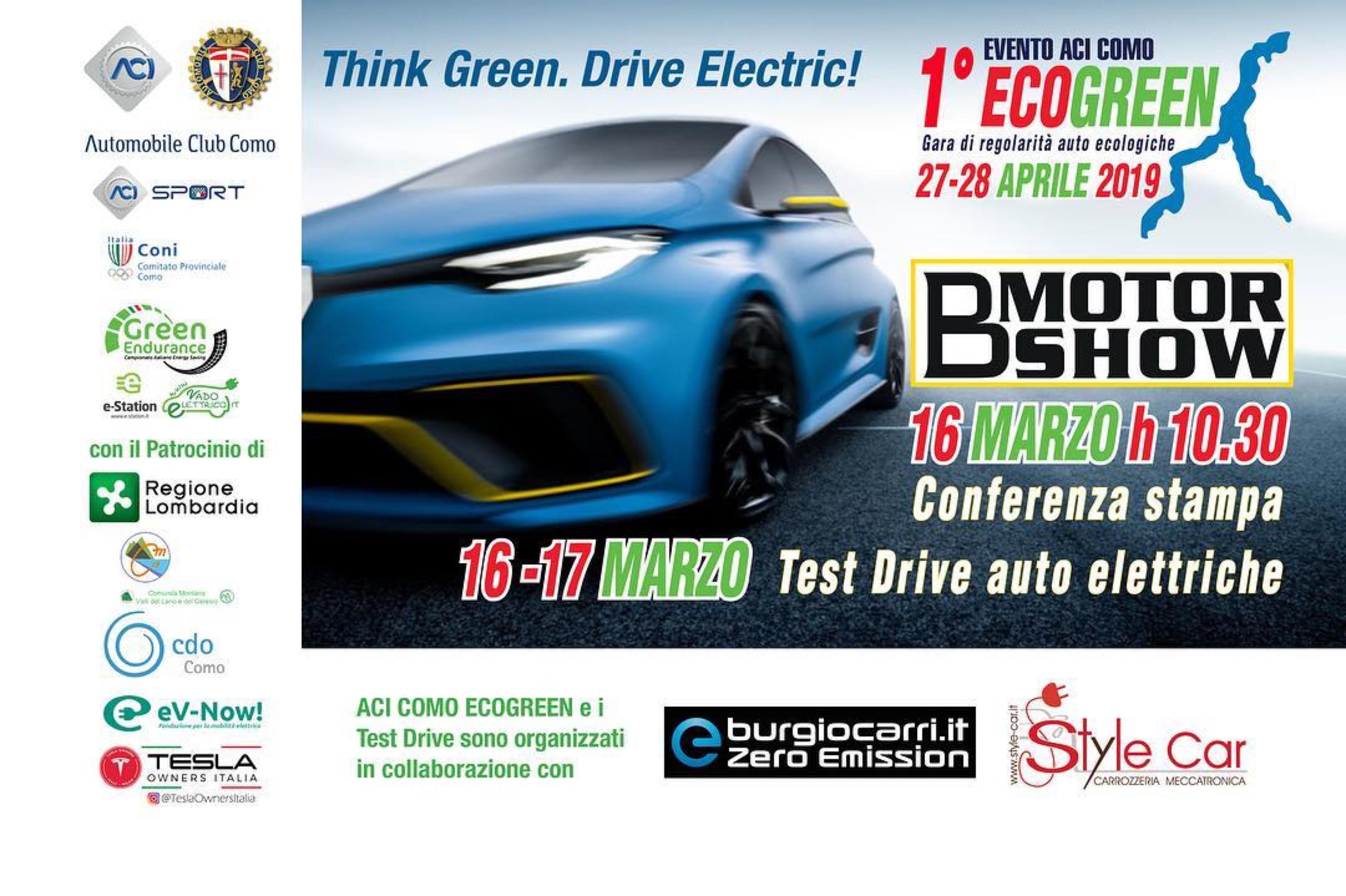 ECOGREEN: Tesla Owners Italia in linea di partenza del Rally